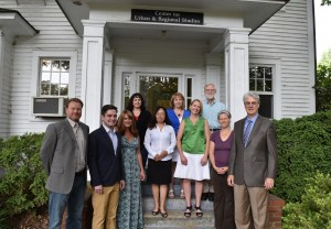 CURS staff outside Hickerson House in Chapel Hill / photo by Udo Reisinger