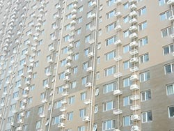 Chinese apartment building