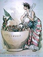 late 1800s cartoon