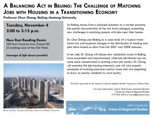 Dr. Chun Zhang talk