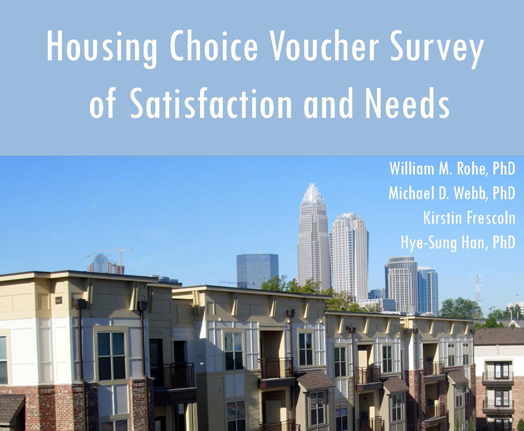 Housing Choice Voucher Survey Results Released