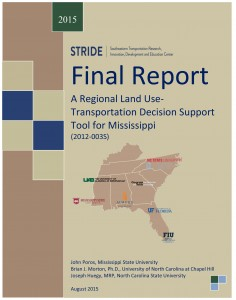 A Regional Land UseTransportation Decision Support Tool for Mississippi