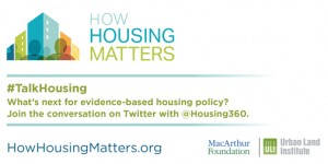 How Housing Matters #TalkHousing