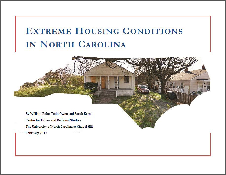 Extreme Housing Conditions in North Carolina