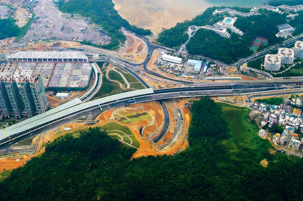 18中国香港马鞍山T7高速公路项目
