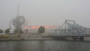 The Hai River in Tianjin.