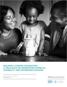 Building a Strong Foundation: Integrating Financial Capability & Affordable Housing