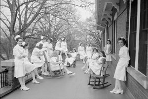 Dix Hospital nurses circa 1946. (photo submitted)