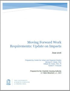 Moving Forward Work Requirements: Update on Impacts