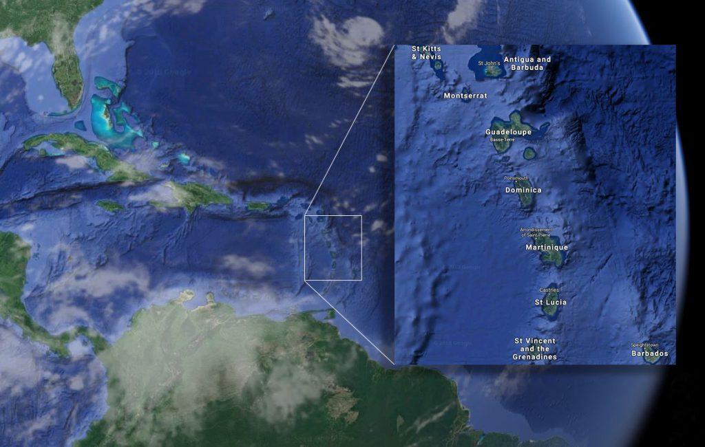 Dominica location