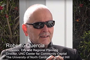 Roberto Quercia and the UNC Center for Community Capital